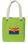 Arizona Tote Bag RICH COTTON CANVAS Green