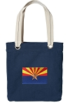 Arizona Tote Bag RICH COTTON CANVAS Navy