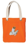Tote Bag RICH COTTON CANVAS Orange