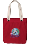 Field Hockey Tote Bag RICH COTTON CANVAS Red