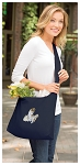 Cute Cats Tote Bag Sling Style Navy