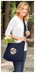Baseball Tote Bag Sling Style Navy