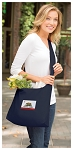 California Flag Tote Bag Sling Style Navy