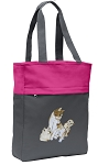 Cute Cats Tote Bag Everyday Carryall Pink