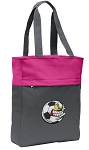 Soccer Fan Tote Bag Everyday Carryall Pink