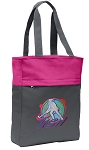 Field Hockey Tote Bag Everyday Carryall Pink