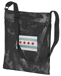 Chicago Flag CrossBody Bag COOL Hippy Bag