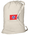 Tennessee Laundry Bag White