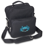 BLUE CRAB Small Utility Messenger Bag or Travel Bag
