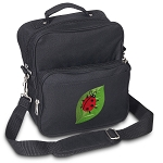 Ladybug Small Utility Messenger Bag or Travel Bag
