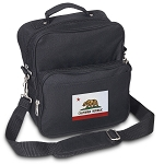 California Flag Small Utility Messenger Bag or Travel Bag