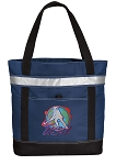 Field Hockey Large Grocery Cooler Bag