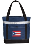 Puerto Rico Large Grocery Cooler Bag