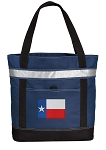 Texas Flag Large Grocery Cooler Bag