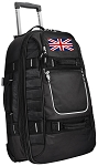 Rolling England British Flag Carry-On Suitcase