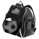 Crazy Cat Soccer Ball Backpack