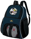 Soccer Fan SOCCER Backpack or VOLLEYBALL Bag