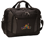 Peace Frogs Laptop Messenger Bags