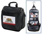 California Flag Toiletry Bag or Shaving Kit