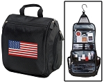 American Flag Toiletry Bag or Shaving Kit