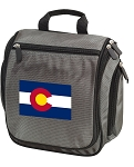 Colorado Toiletry Bag or Shaving Kit Gray