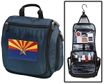 Arizona Flag Toiletry Bag Shaving Kit