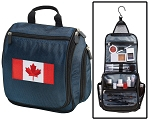 Canadian Flag Toiletry Bag Shaving Kit