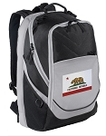 California Flag Laptop Backpack