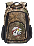 Baseball RealTree Camo Backpack