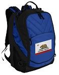 California Flag Deluxe Computer Backpack Blue