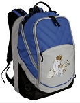 Cute Cats Deluxe Laptop Backpack Blue