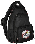 Baseball Sling Backpack