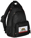 California Flag Sling Backpack