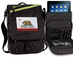 California Flag Tablet Bags & Cases Green
