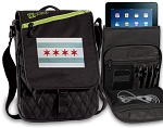 Chicago Flag Tablet Bags & Cases Green