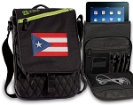 Puerto Rico Tablet Bags & Cases Green