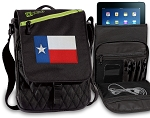 Texas Flag Tablet Bags & Cases Green
