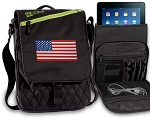 American Flag Tablet Bags & Cases Green