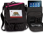California Flag Tablet Bags & Cases Pink