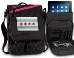 Chicago Flag Tablet Bags & Cases Pink