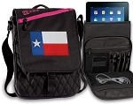 Texas Flag Tablet Bags & Cases Pink