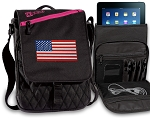 American Flag Tablet Bags & Cases Pink