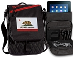 California Flag Tablet Bags & Cases Red