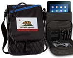 California Flag Tablet Bags & Cases Blue