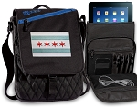 Chicago Flag Tablet Bags & Cases Blue