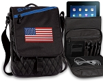 American Flag Tablet Bags & Cases Blue