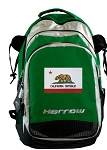 California Flag Harrow Field Hockey Lacrosse Bag Green