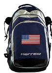 American Flag Harrow Field Hockey Lacrosse Bag Navy