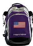 American Flag Harrow Field Hockey Lacrosse Bag Red