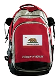California Flag Harrow Field Hockey Lacrosse Bag Red